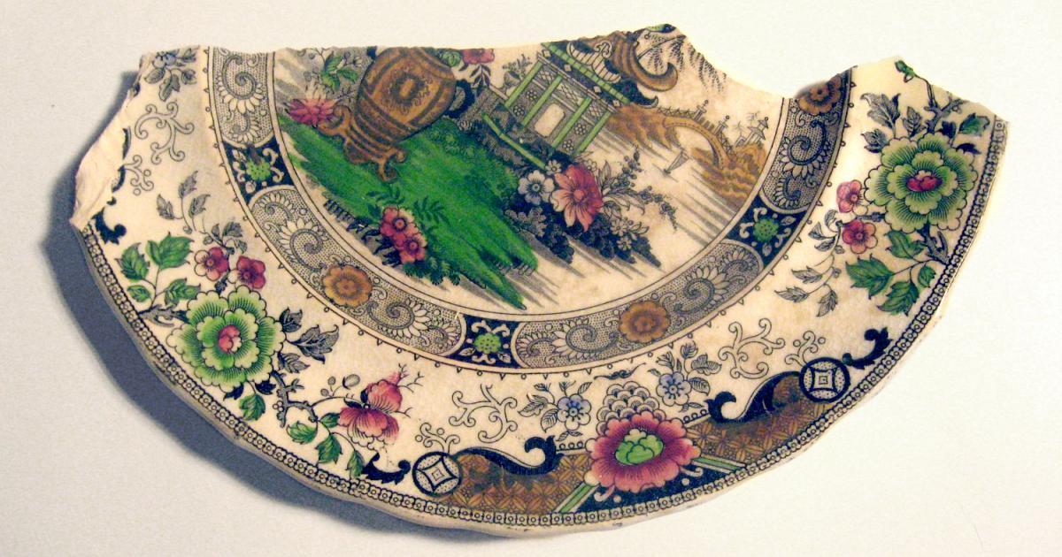 Restauro di un piatto cinese raffaele nocerino for Piatto cinese